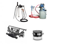 Release Agent Spray Guns And Pots For Moulds